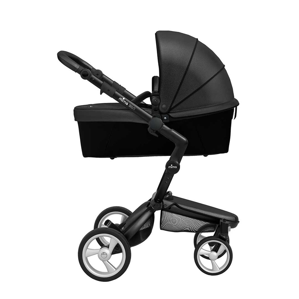 Mima Xari Single Pushchair - Black Flair with Black Chassis-Strollers- Natural Baby Shower