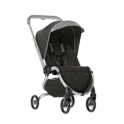 Mima Zigi Pushchair - Charcoal-Strollers- Natural Baby Shower