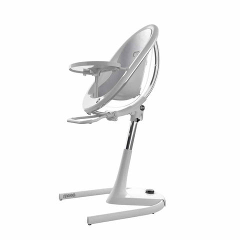 Mima Moon Highchair + Silver Seat Pad