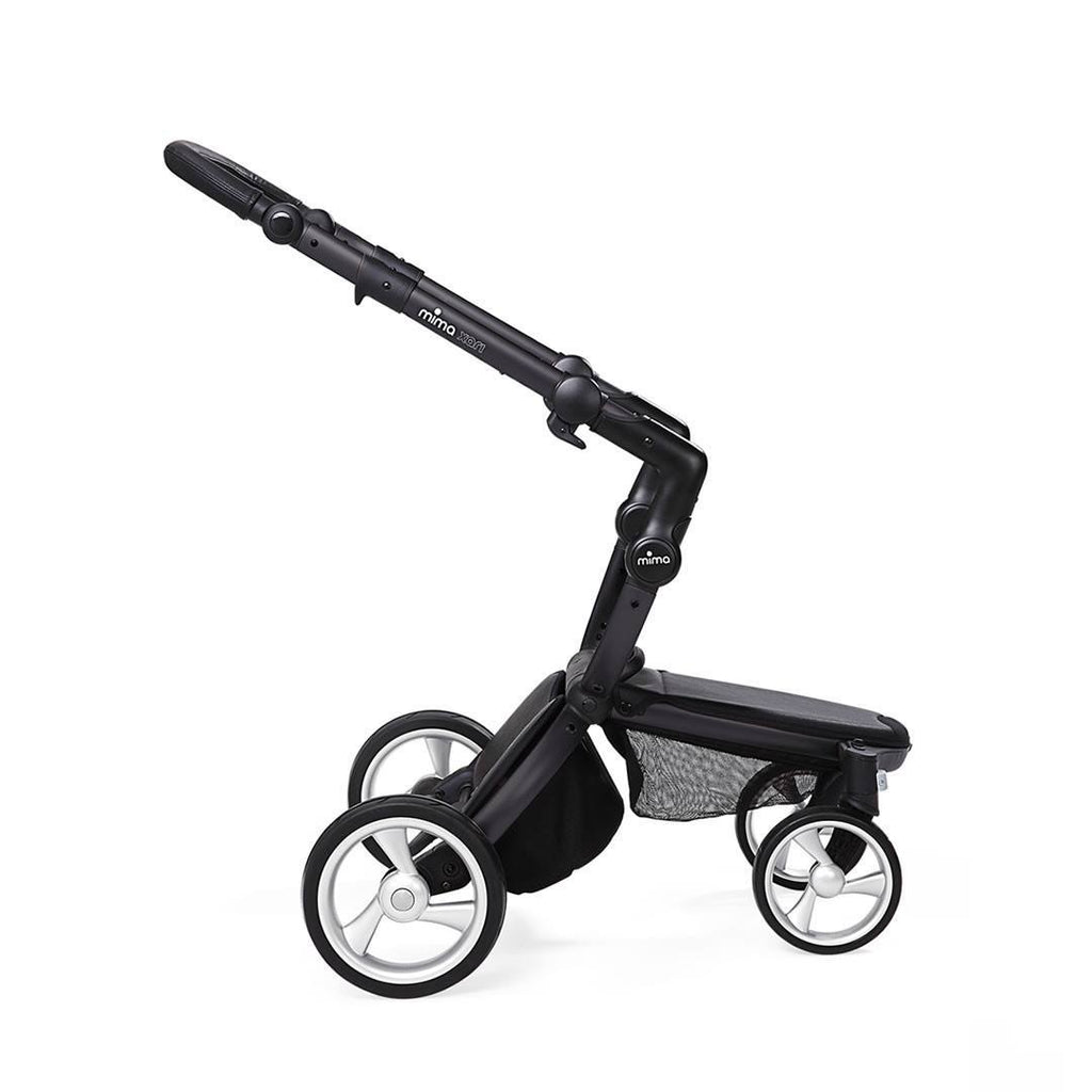 Mima Xari Single Pushchair - Cool Grey with Black Chassis-Strollers- Natural Baby Shower