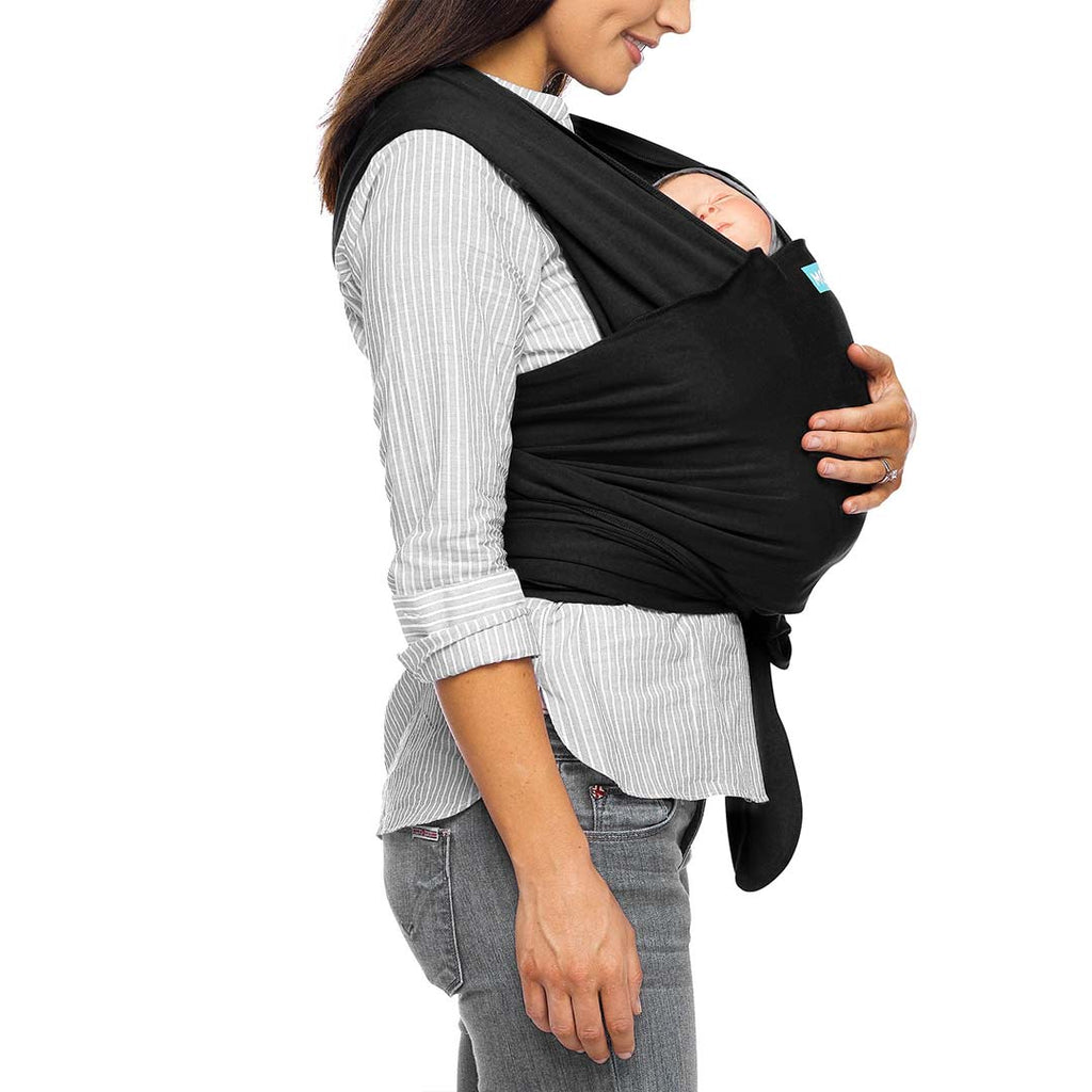 Moby Classic Wrap - Black-Baby Carriers- Natural Baby Shower