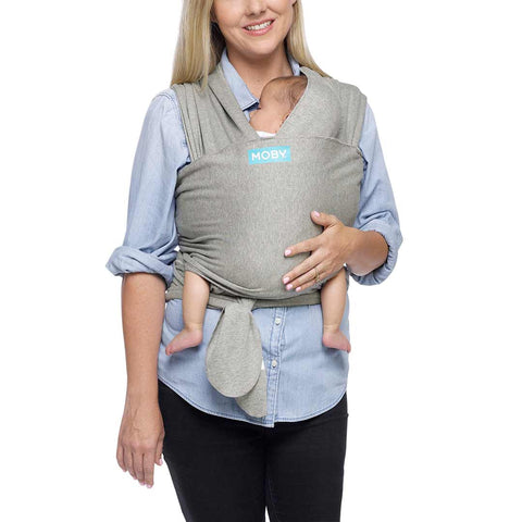 Moby Classic Wrap - Gray-Baby Carriers- Natural Baby Shower