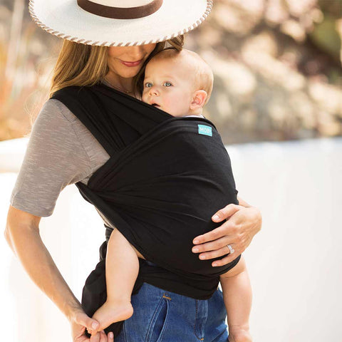 Moby Evolution Wrap - Black-Baby Carriers- Natural Baby Shower