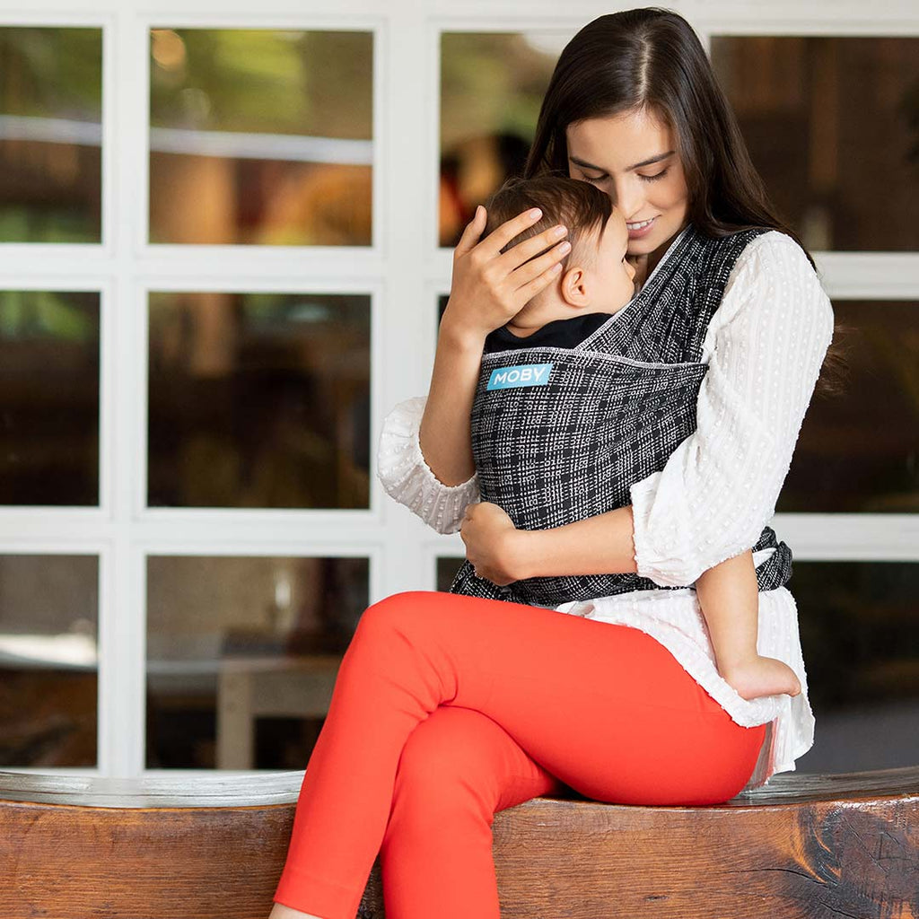 Moby Evolution Wrap - Stitches-Baby Carriers- Natural Baby Shower