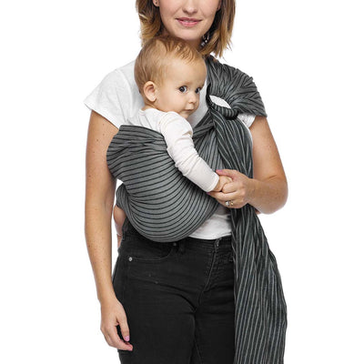 Moby Ring Sling - Jet Ribbons-Baby Carriers- Natural Baby Shower