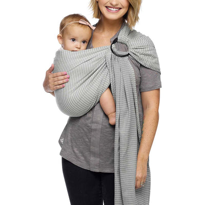 Moby Ring Sling - Silver Streak-Baby Carriers- Natural Baby Shower