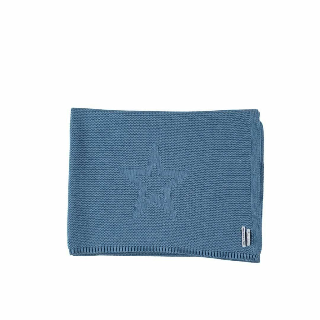 Mon Marcel Astry Blanket in Blue