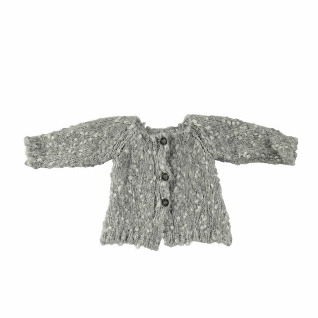 Mon Marcel Erika Cardigan - Grey-Cardigans- Natural Baby Shower