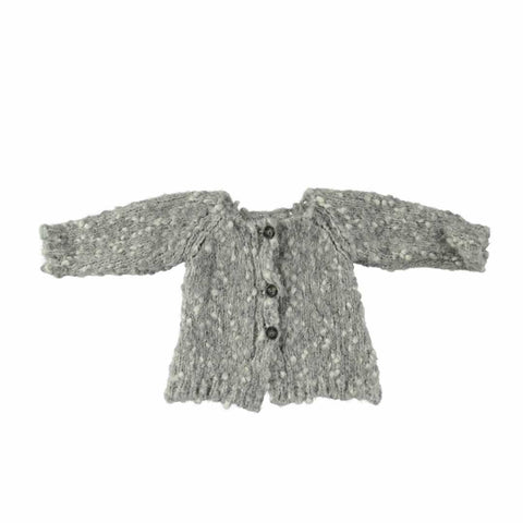 Mon Marcel Erika Cardigan in Grey