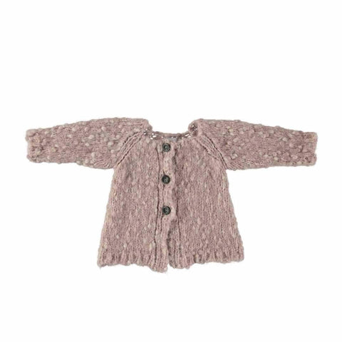 Mon Marcel Erika Cardigan in Rose