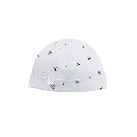 MORI Mini Panda Hat - Light Grey