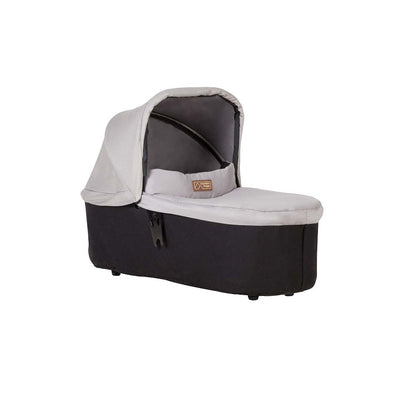 Mountain Buggy Carrycot Plus - Duet (2019) - Silver-Carrycots- Natural Baby Shower