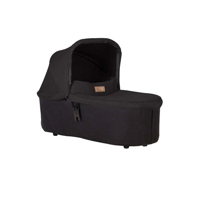 Mountain Buggy Carrycot Plus - Urban Jungle (2019) - Black-Carrycots- Natural Baby Shower