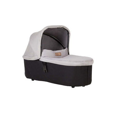 Mountain Buggy Carrycot Plus - Urban Jungle (2019) - Silver-Carrycots- Natural Baby Shower