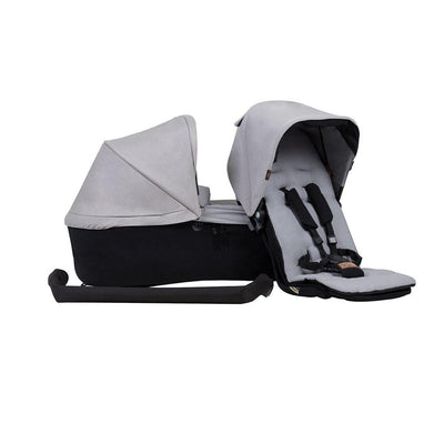 Mountain Buggy Duet Single Family Pack - Silver-Stroller Seats- Natural Baby Shower