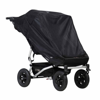 Mountain Buggy Duet V3 Double Sun Cover-Sun Covers- Natural Baby Shower