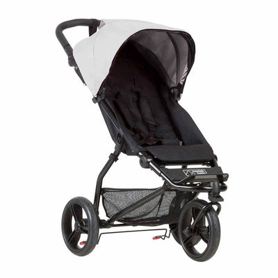Mountain Buggy Mini Pushchair - Silver-Strollers- Natural Baby Shower