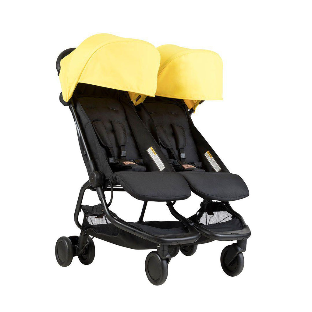 mountain buggy nano duo pushchair in cyber natural baby. Black Bedroom Furniture Sets. Home Design Ideas