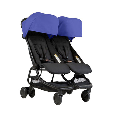 Mountain Buggy Nano Duo Pushchair - Nautical-Strollers- Natural Baby Shower