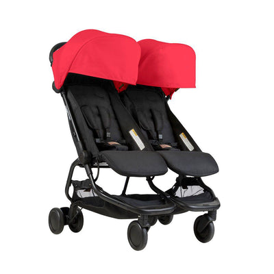 Mountain Buggy Nano Duo Pushchair - Ruby-Strollers- Natural Baby Shower