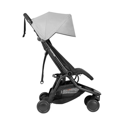 Mountain Buggy Nano Pushchair - Silver - 2020-Strollers- Natural Baby Shower