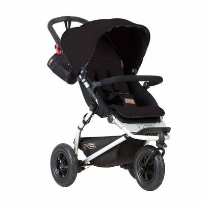 Ex-Display - Mountain Buggy Swift Pushchair - Black-Strollers- Natural Baby Shower