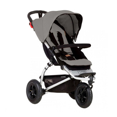 Mountain Buggy Swift Pushchair - Silver-Strollers- Natural Baby Shower
