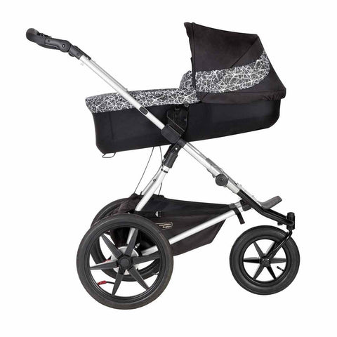Mountain Buggy Terrain Carrycot Plus Graphite