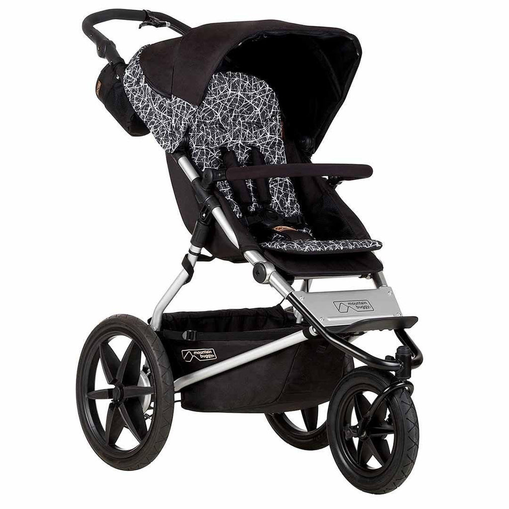 Mountain Buggy Terrain Pushchair - Graphite-Strollers- Natural Baby Shower