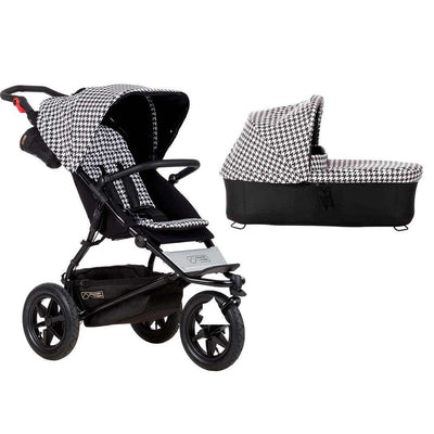Mountain Buggy Urban Jungle Pushchair + Carrycot - Pepita-Strollers- Natural Baby Shower