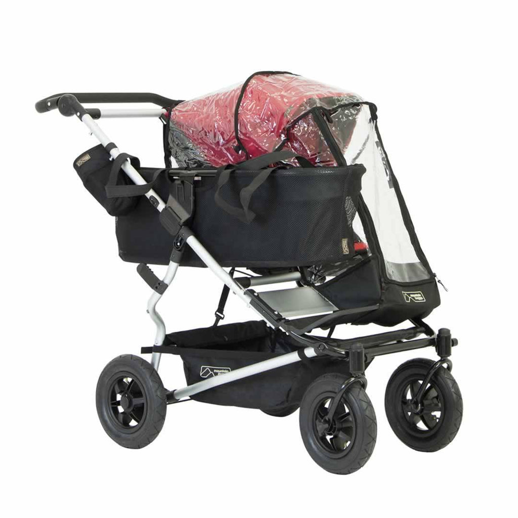 Mountain Buggy Duet Single Storm Cover - Raincovers - Natural Baby Shower