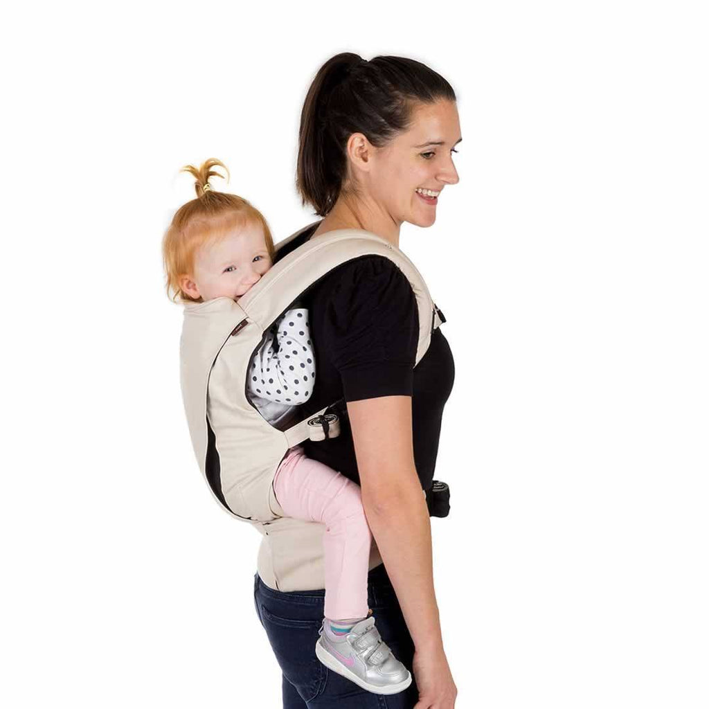 Mountain Buggy Juno Baby Carrier Sand Back