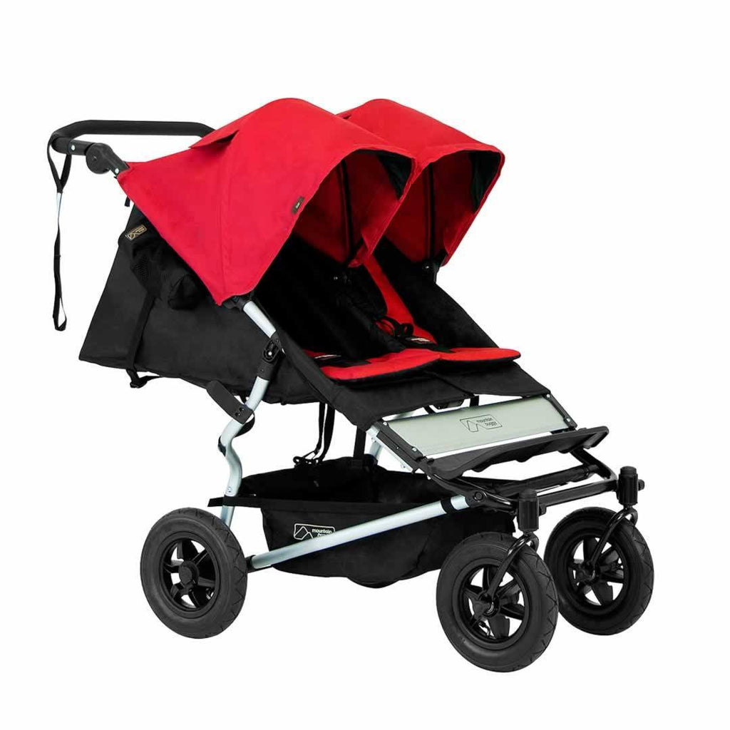 Mountain Buggy Duet Pushchair in Chilli
