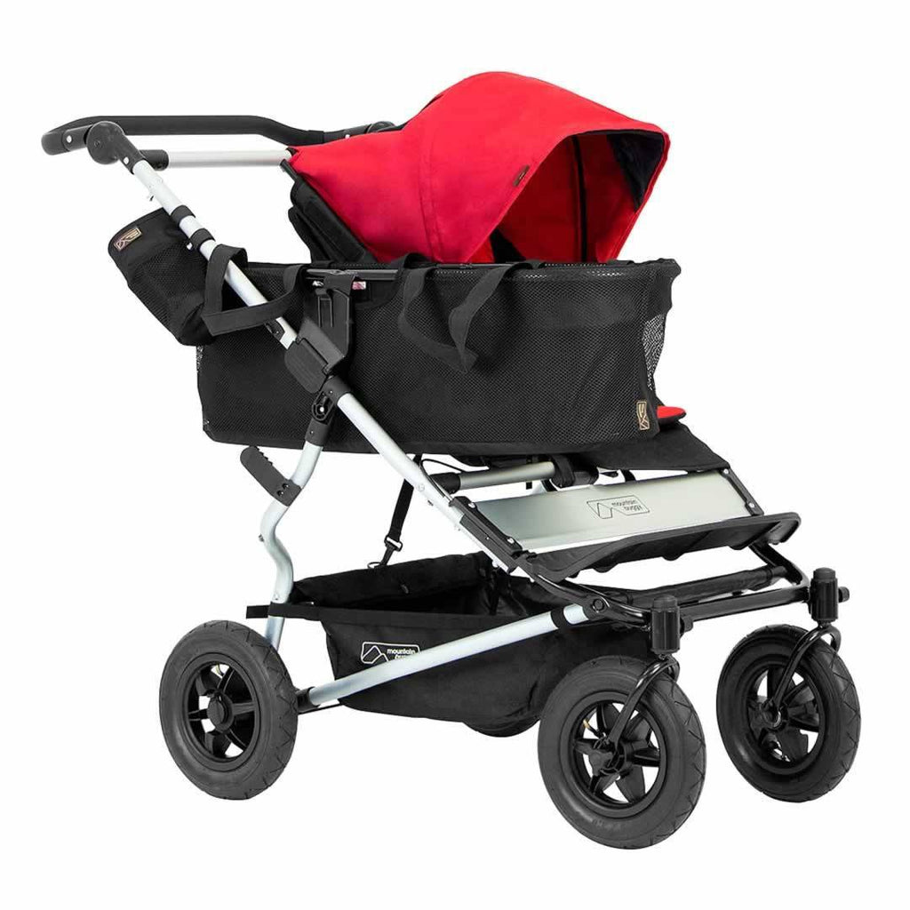Mountain Buggy Duet Pushchair - Chilli with basket