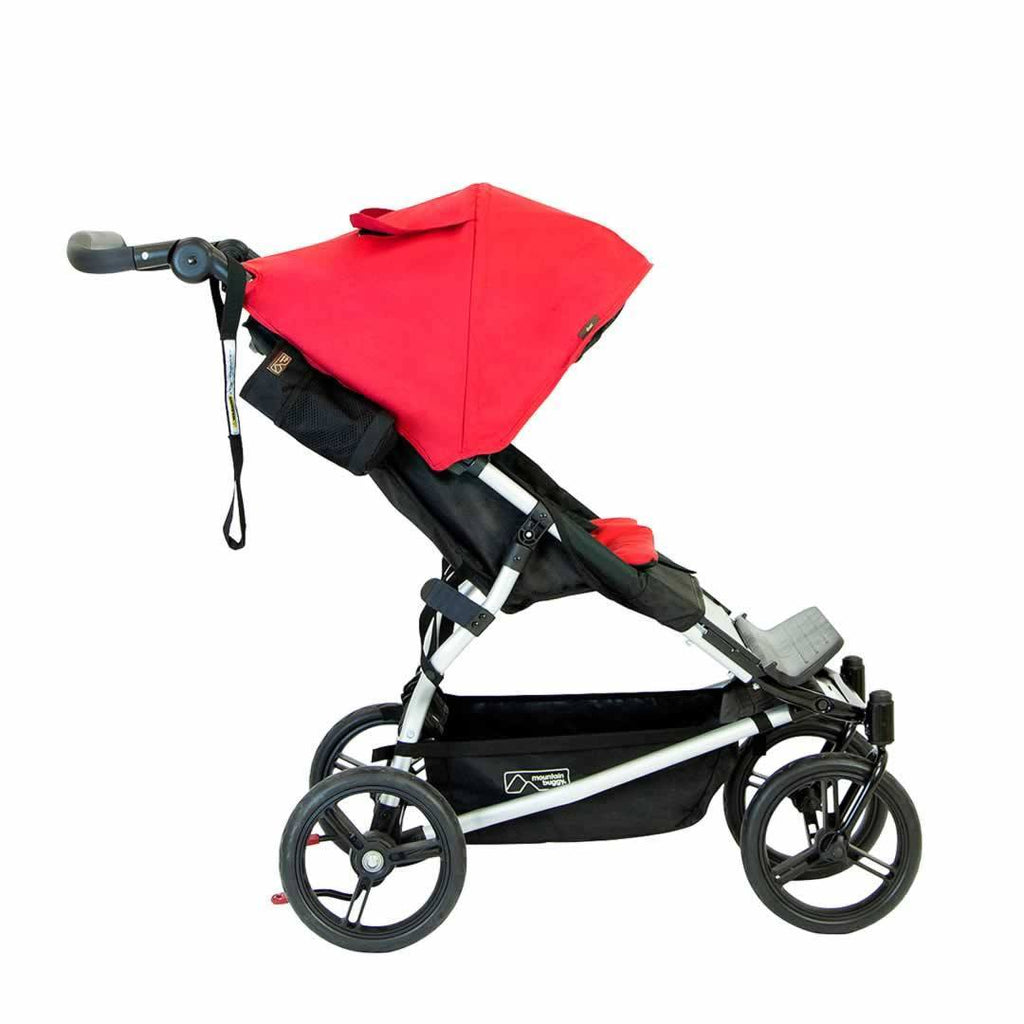 Mountain Buggy Duet Pushchair Chilli Side
