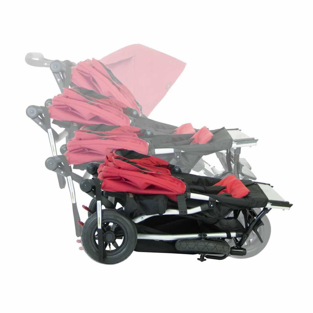 Mountain Buggy Duet Pushchair - Chilli Folding
