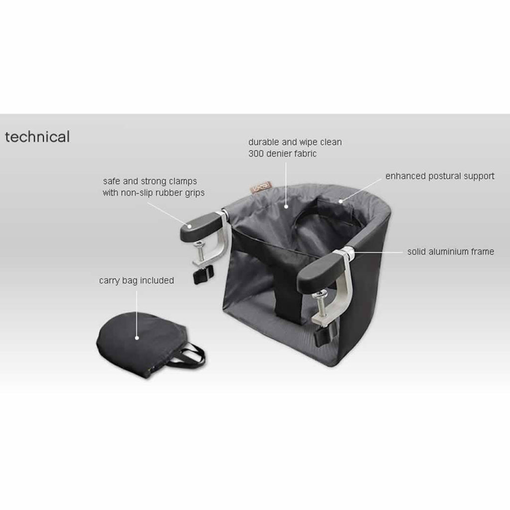 Mountain Buggy Evo Pod High Chair - Flint Technical