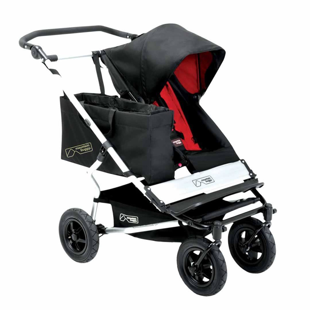Mountain Buggy Joey Clip On Tote Bag on Pushchair