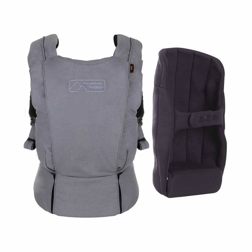 Mountain Buggy - Juno Baby Carrier - Charcoal-Baby Carriers- Natural Baby Shower