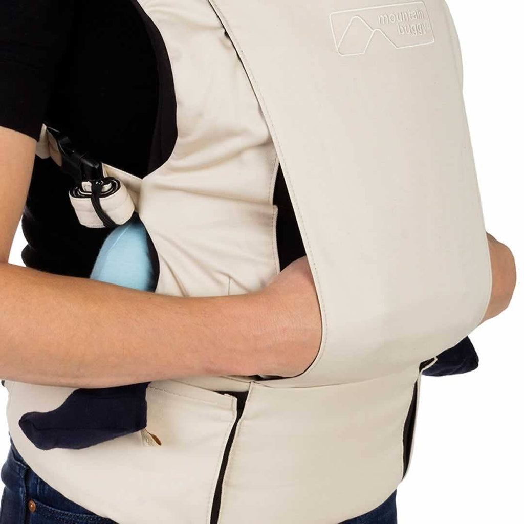 Mountain Buggy - Juno Baby Carrier - Sand Detail