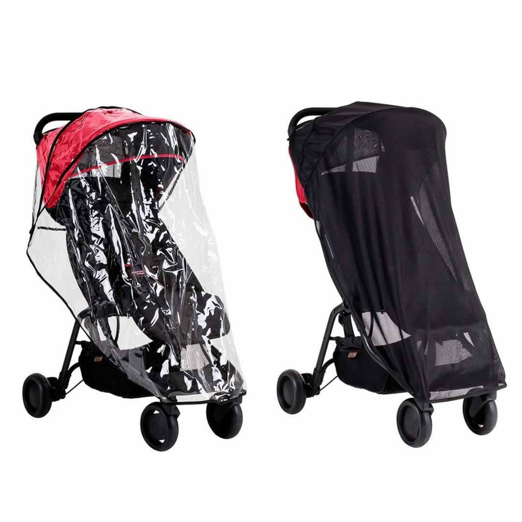 Mountain Buggy Nano All Weather Cover Set-Raincovers- Natural Baby Shower