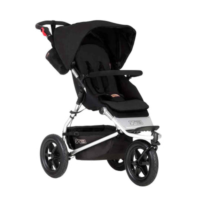 Mountain Buggy Urban Jungle Pushchair - Black-Strollers- Natural Baby Shower