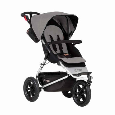 Mountain Buggy Urban Jungle Pushchair - Silver-Strollers- Natural Baby Shower