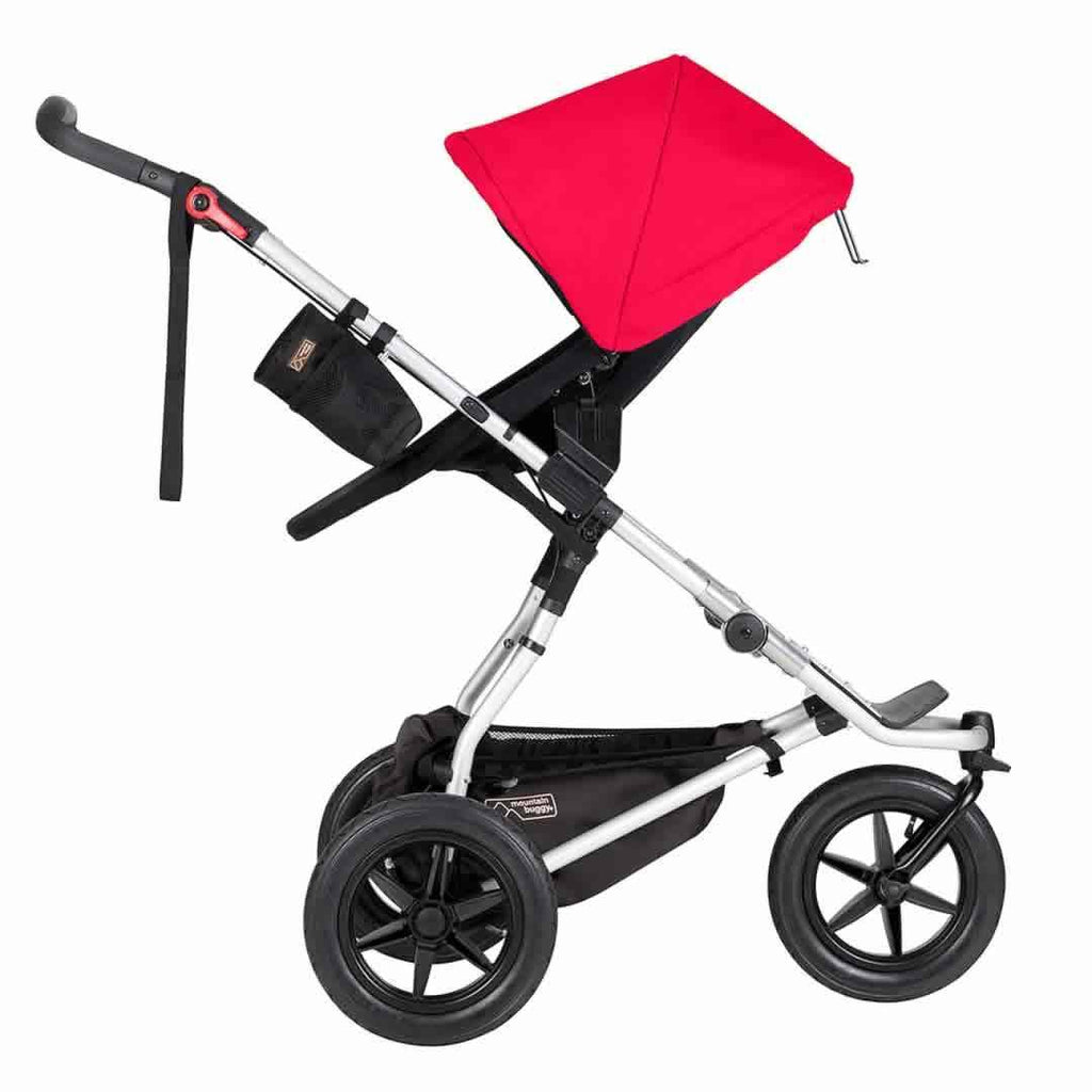 Mountain Buggy Urban Jungle Pushchair - Silver Side