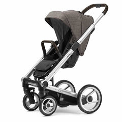 Mutsy Igo Pushchair in Farmer Earth with Silver