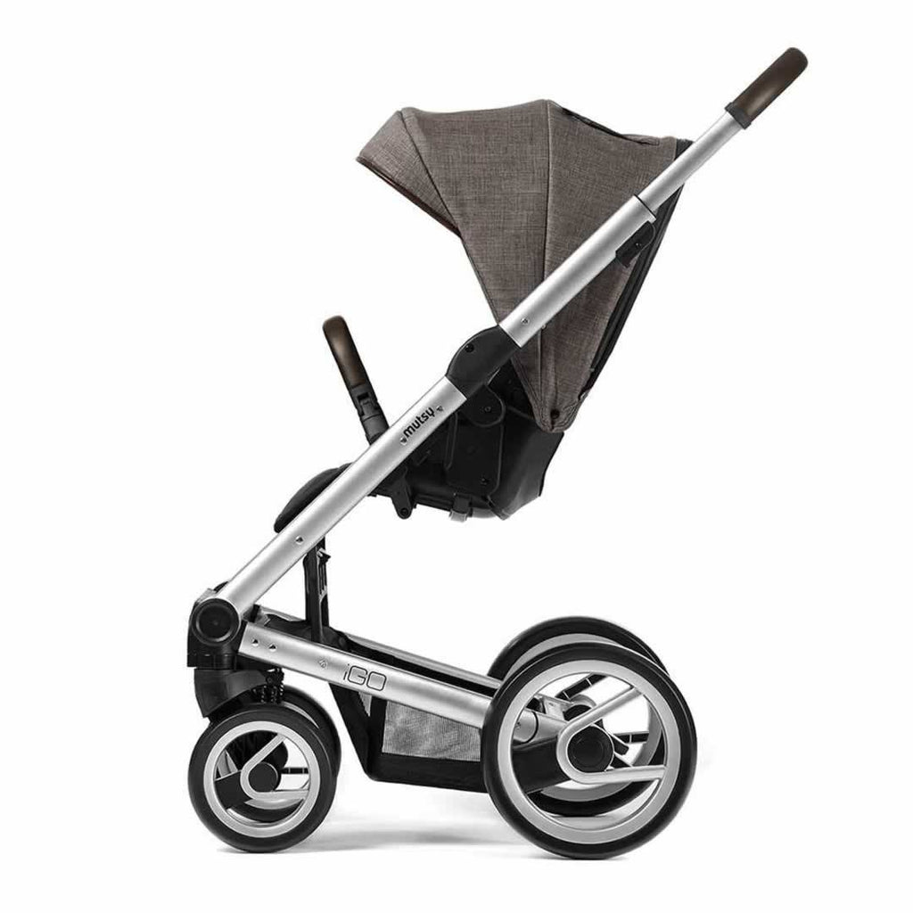 Mutsy Igo Pushchair Farmer Earth with Silver Side
