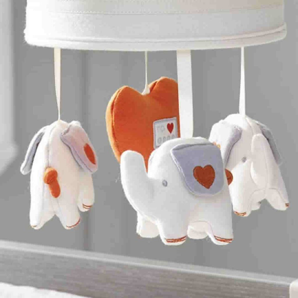Natures Purest Musical Mobile Characters - My First Friend - Baby Mobiles - Natural Baby Shower