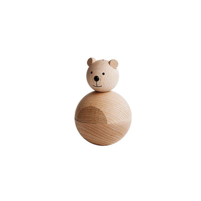 OYOY Bear - Nature-Nursery Accessories- Natural Baby Shower
