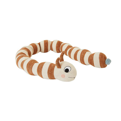 OYOY Leo Larva Figure - Caramel-Soft Toys- Natural Baby Shower