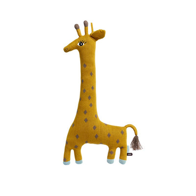 OYOY Noah Giraffe Cushion-Cushions- Natural Baby Shower